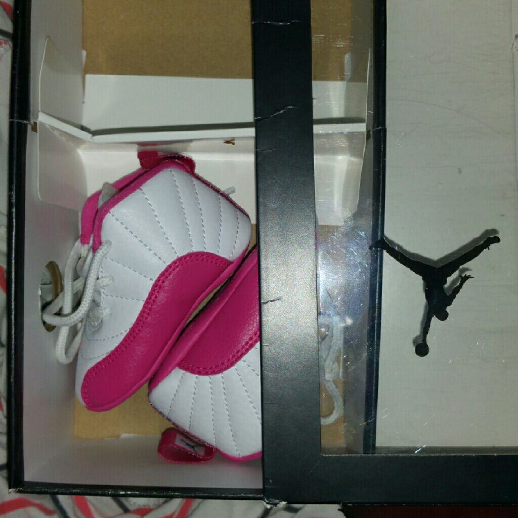 official photos 488da ffa15 Jordan Shoes | Infant Jordan 12s | Color: Pink/White | Size ...