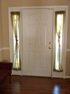 5 Minute Project Front Doors With Windows Door Coverings