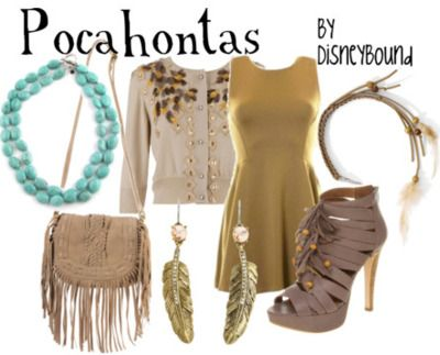 i really like the pocahontas style :D i totally see me wearing that. I already have these earrings
