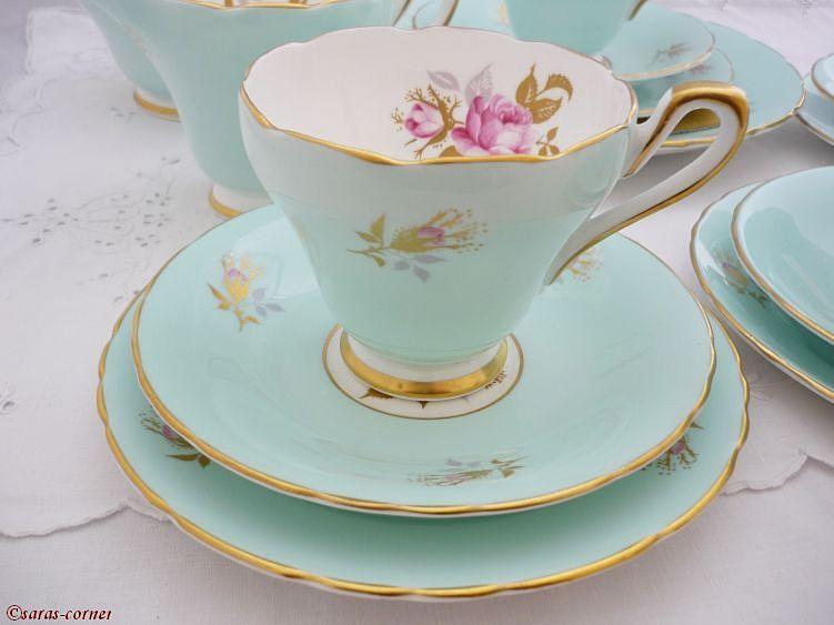 Englisches Teeservice tea for three pj19   pinterest