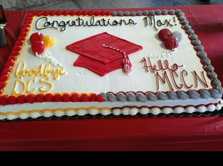 Graduation Cake Ideasay Goodbye To High School Hello To College