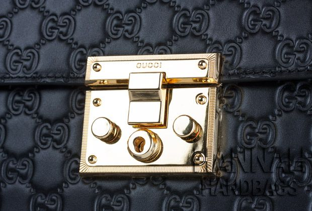 88bc3790f4b Padlock Small Gucci Signature Top Handle Bag