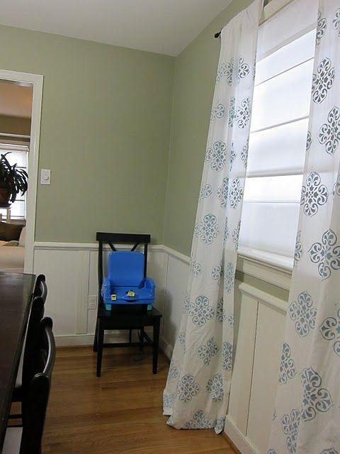 Sarah S Diy Curtains Stenciled Curtains Curtains Diy Curtains