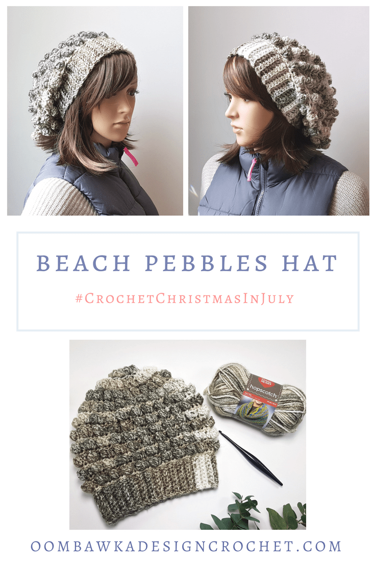Beach Pebbles Hat Pattern | Crochet Hats | Pinterest | Enganchados y ...