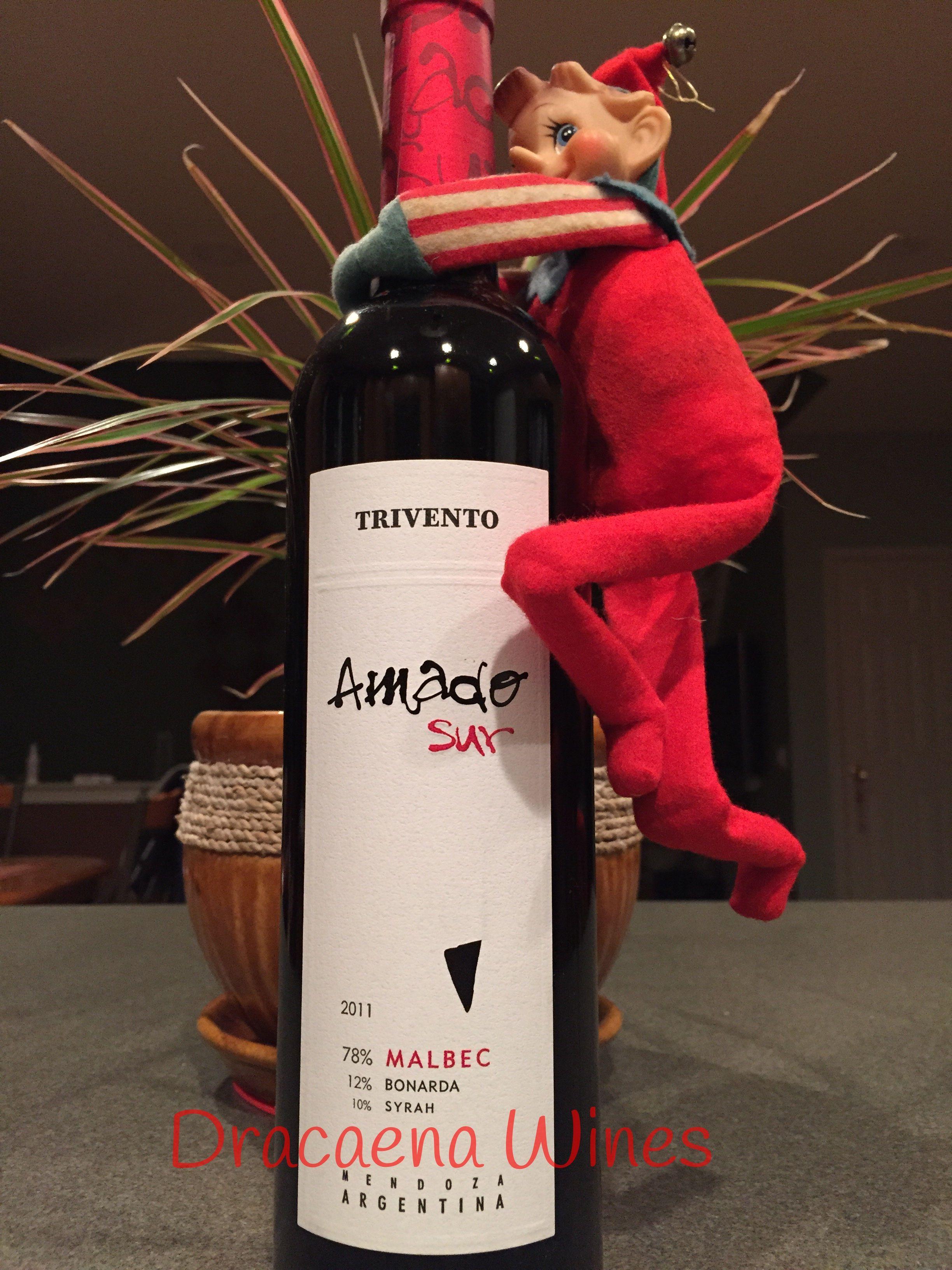Malbec Amado Sur Trivento Wines Wine Wines Malbec Elf On The Shelf