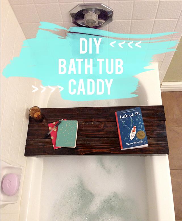 Everyday Simple - DIY Bathtub Caddy | Inspiration Gallery Features ...