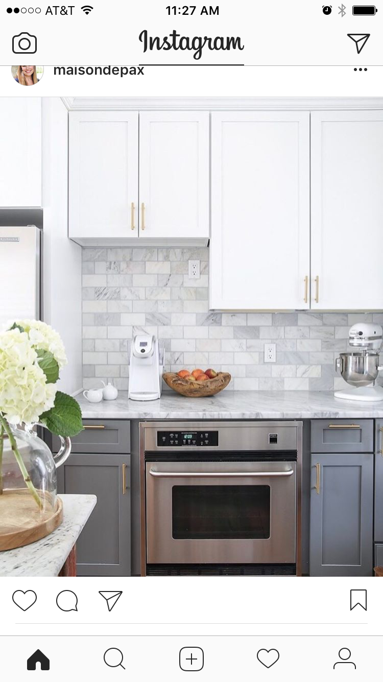 Back splash and color scheme | kitchen | Pinterest | Kitchens, House ...
