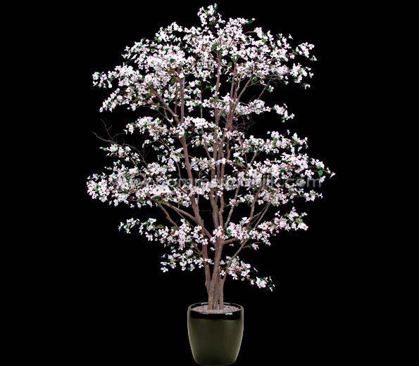 FLOWERING DOGWOOD TREE (PINK WHITE) Dogwood trees, Silk