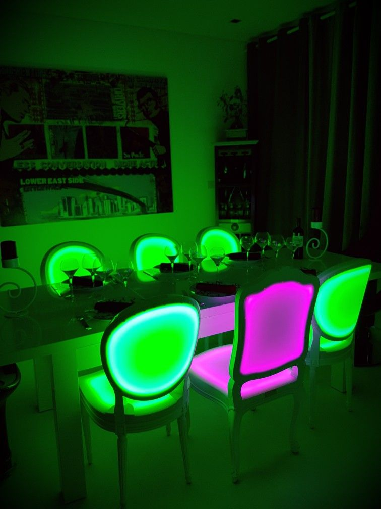 Lighting Chairs Rgb Made In France Lighting Lighting Furniture Contact Spot Lumiere Led Com 971 56 4993140 33 Luminaire Design Luminaire Lumineux
