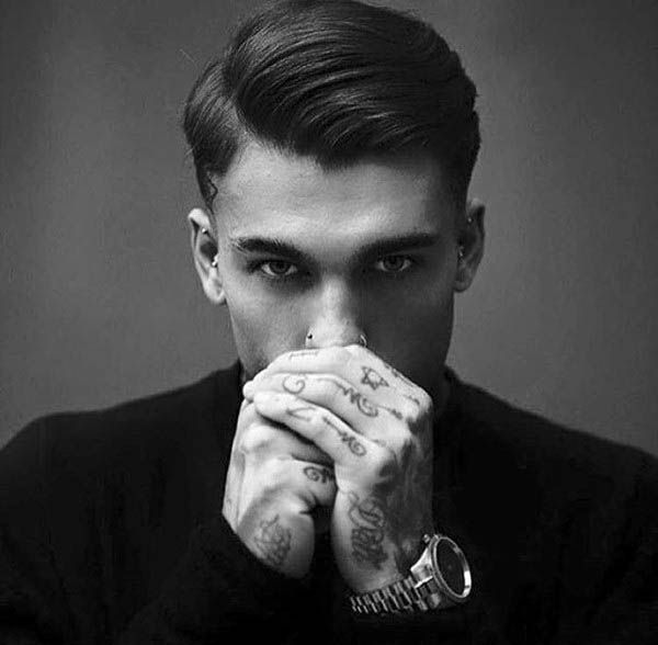 Greaser Hair For Men 40 Rebellious Rockabilly Hairstyles In 2020 Greaser Hair Old School Haircuts Side Part Hairstyles