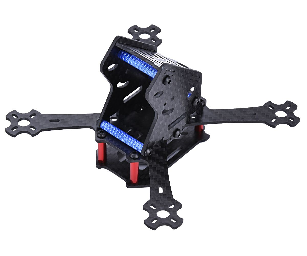 143mm micro fpv drone frame kit real carbon fiber gopro mount