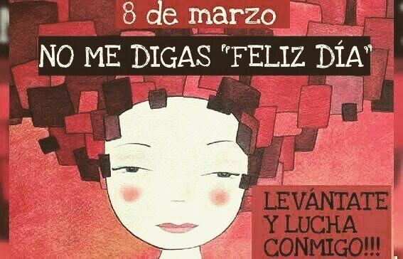 Bonito eslogan.  #FelizDiaDeLaMujer