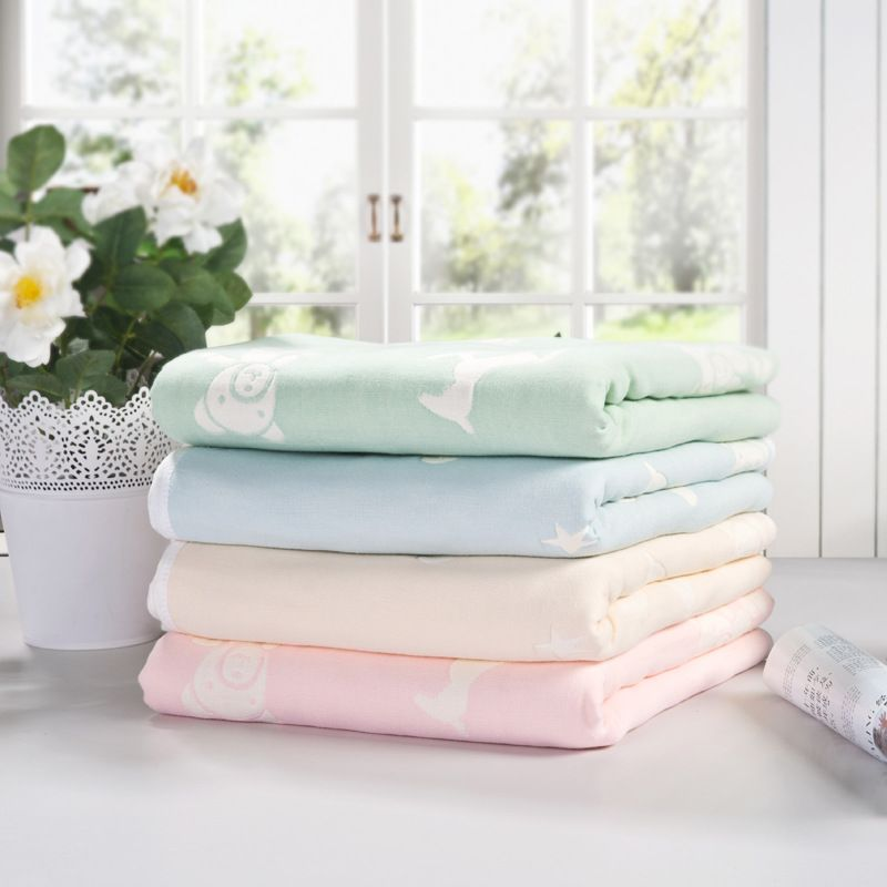 Baby Thick Blanket Quality Newborn 6 Layers Bedding Autum Winter ...