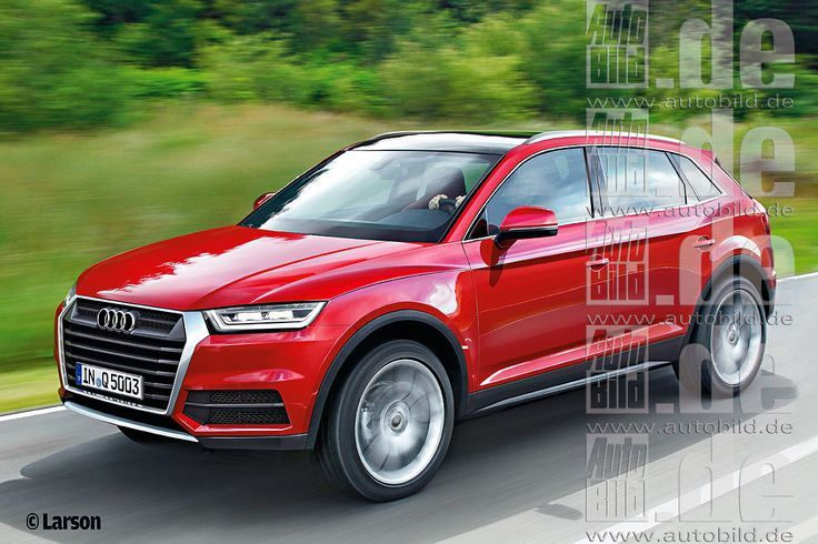 Awesome Audi 2017 2016 Audi Q5 rendered with cues from 2015 Audi