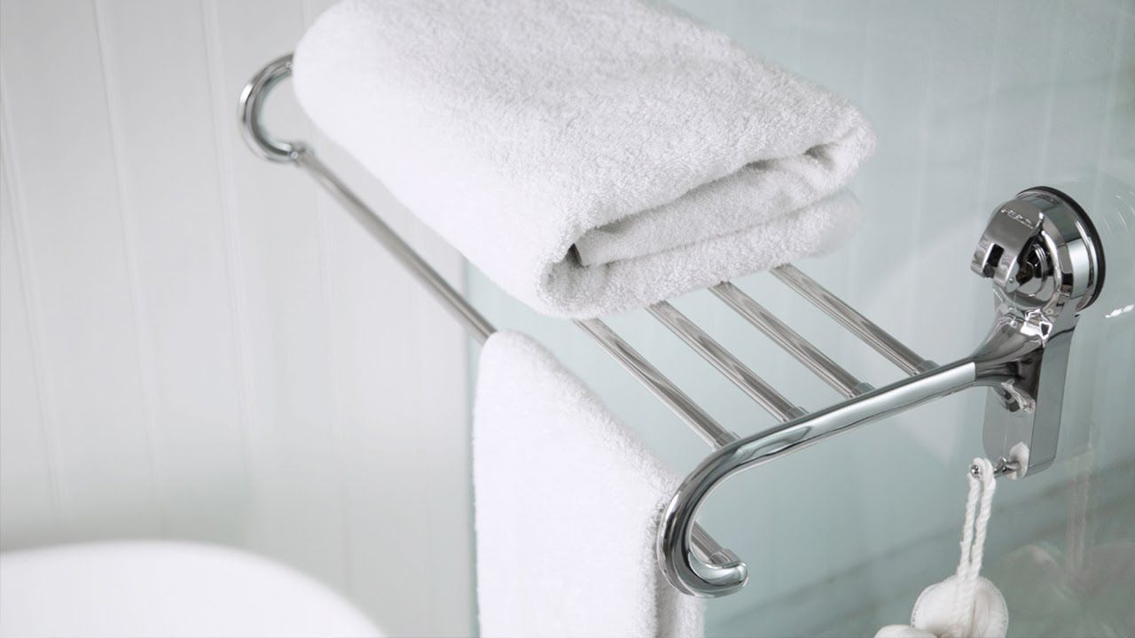 Feca Suction Cup Towel Rack Towel Rack Towel Bar Hand Towel