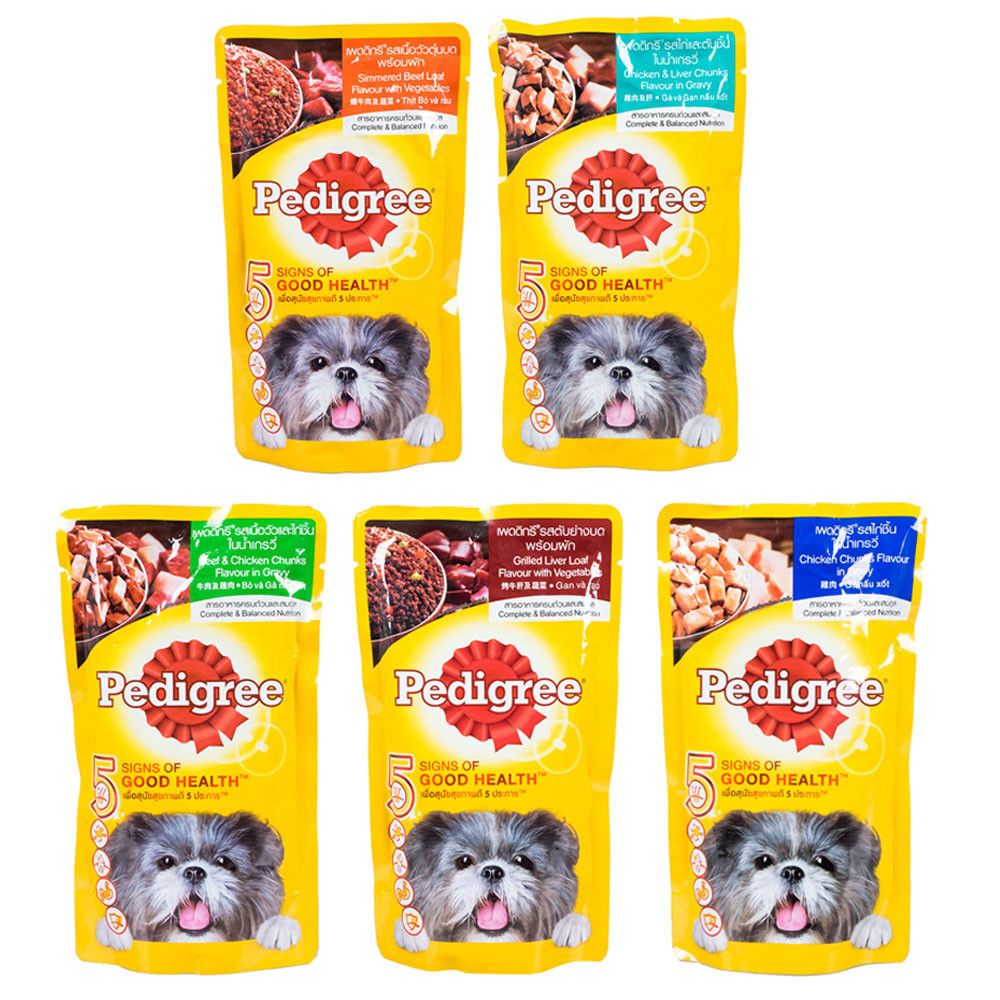 130g Pedigree Complete Balanced Healthy Nutritious Dog Wet Food