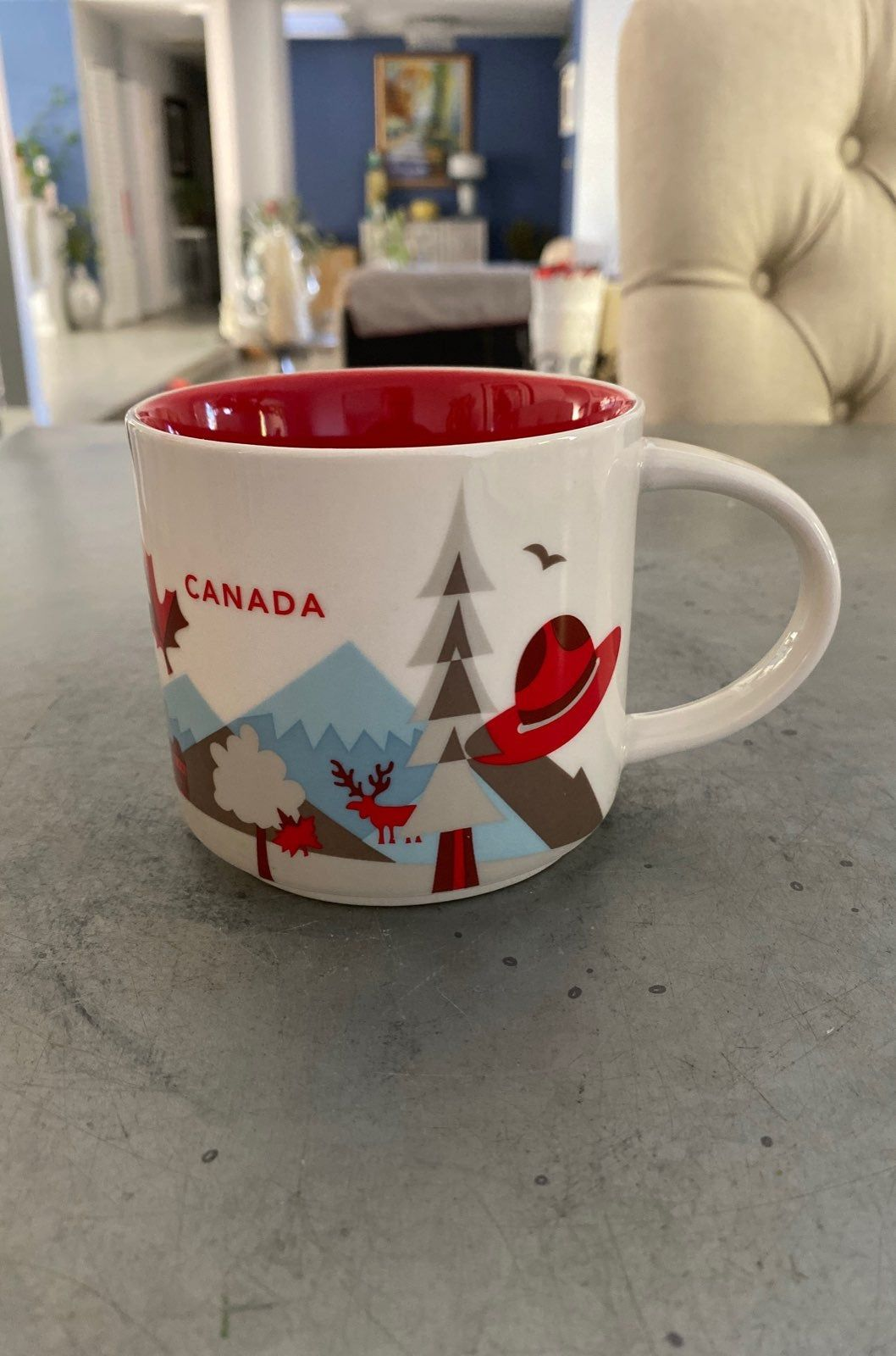 2017 Starbucks You Are Here Canada coffee mug. No chips or