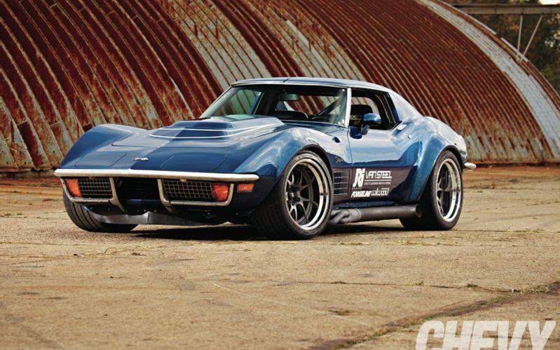 1972 Chevy Corvette Stingray Front Left View Cars Corvette
