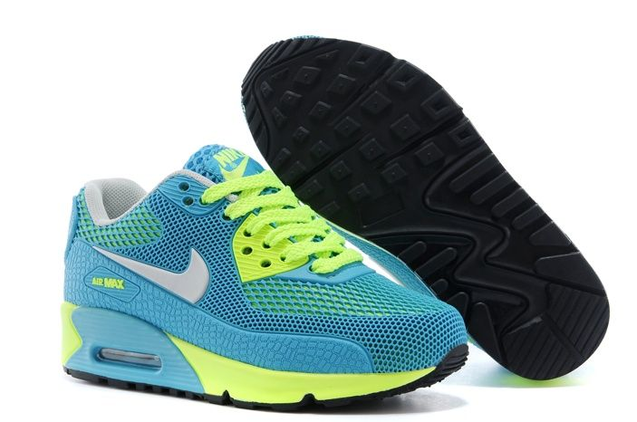 Welcome to buy Nike Shoes Air Max 90 Tpu Kpu Kids Green White Yellow and  enjoy cosiderate service and quick delivery