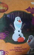 Disney frozen Olaf Halloween or Thanksgiving inflatable light up led 3.5 feet