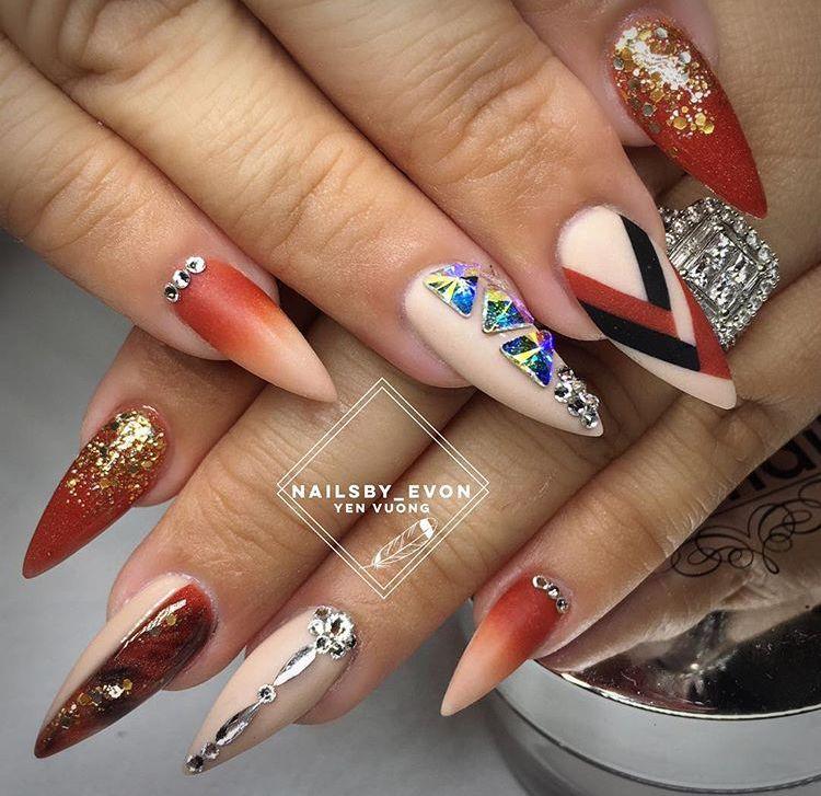 Pin by Mocadescia Fair on Nail Art | Pinterest | Nails inspiration ...