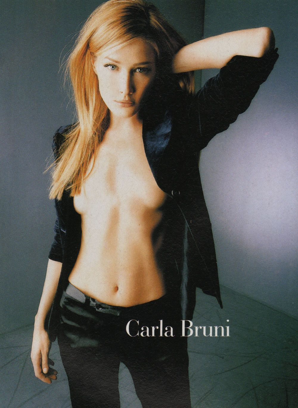 Carla Bruni Nude High Fashion
