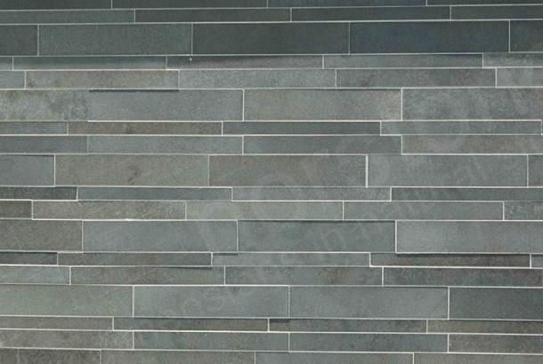 Ash Grey Basalt IL Tile | Modern Wall Tile System. For entry way ...