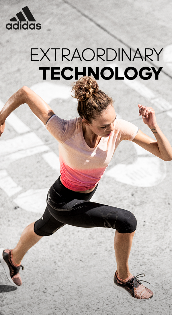 Extraordinary Technology Breakthrough Technology For The Extraordinary Runner Step Into The Future With The All New U Workout Fitness Body Heath And Fitness