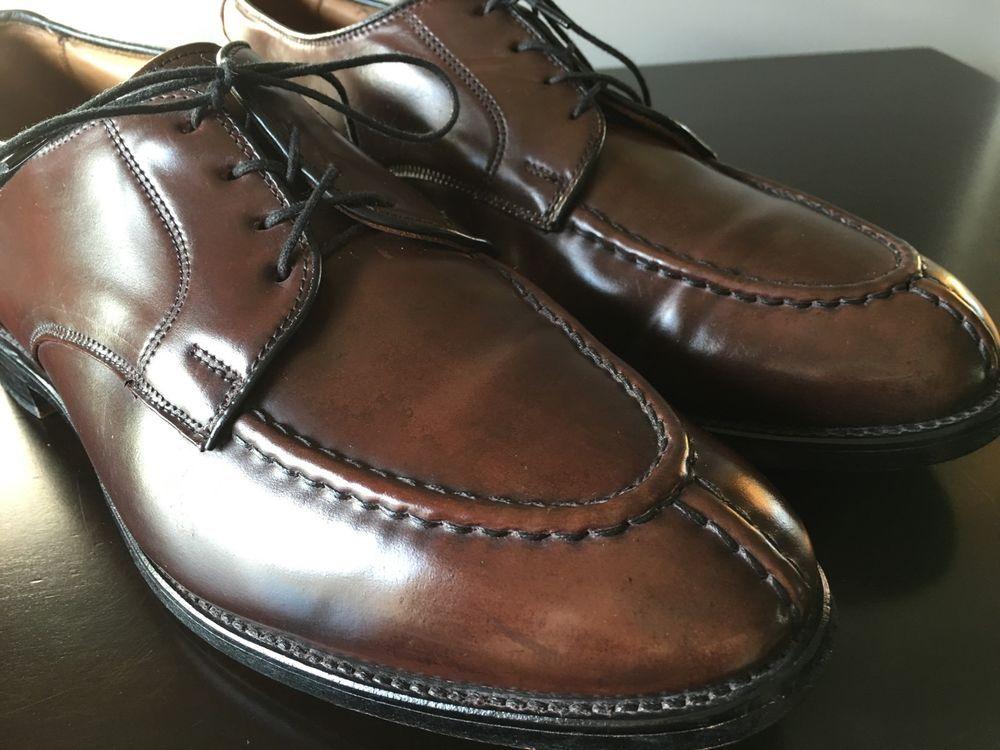 0797b664210 Allen Edmonds Shell Cordovan Brandywood NST Shoes 9E 9 E Alden Bradley  Ravello…