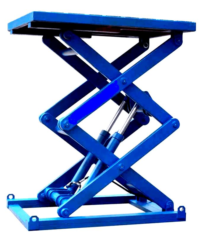 Scissor Lift Table With Good Look And Safety Www Mornlift Com