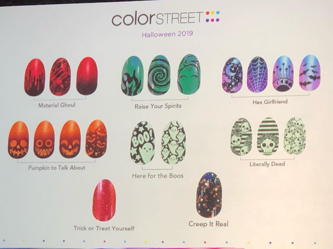 Delightful Colorstreet Halloween Nails