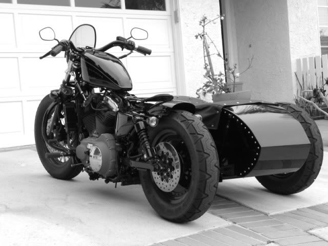 Harley-Davidson XL Sportster Sidecar, who wants to come with