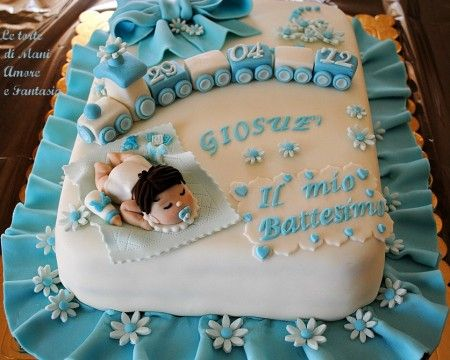 Torte x battesimo in pdz