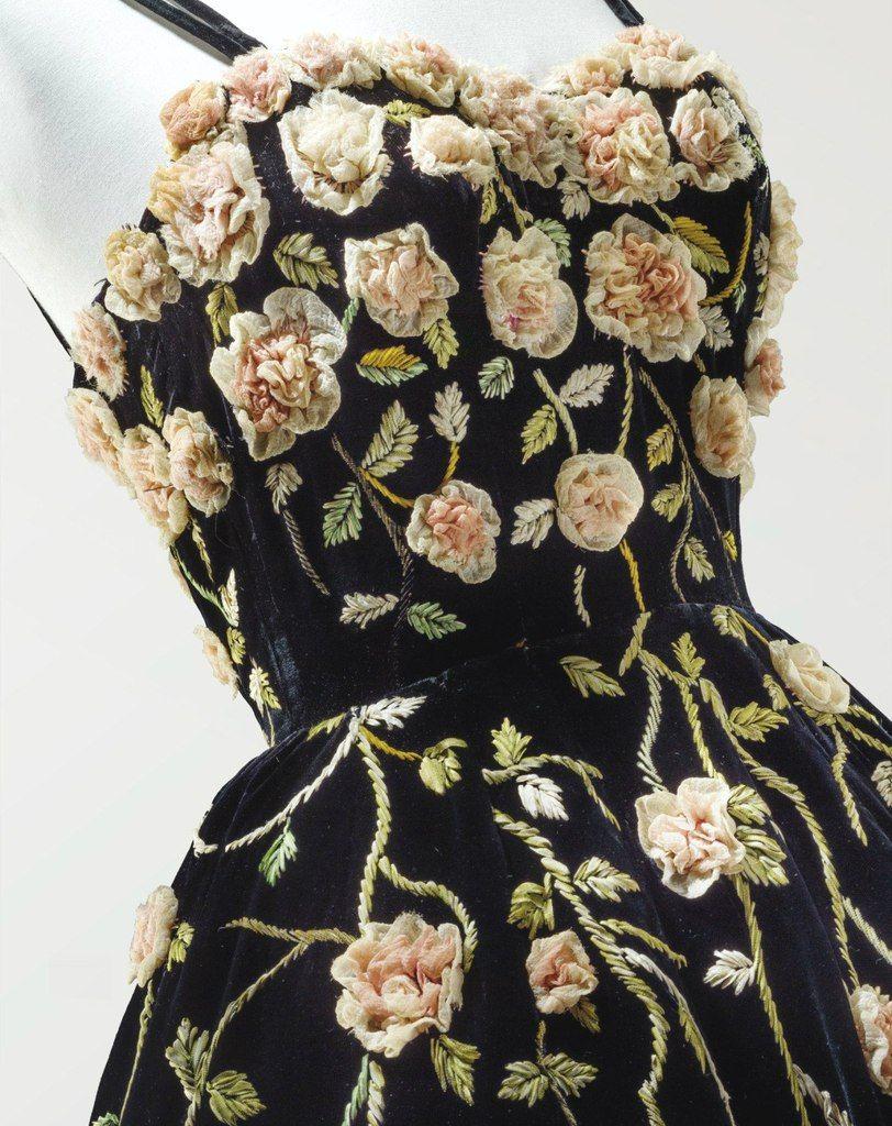 Коктейльное платье, Balmain, 1953
