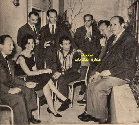 عبد الحليم حافظ مع فاتن حمامة Egyptian Movies Egyptian Actress Arab Celebrities