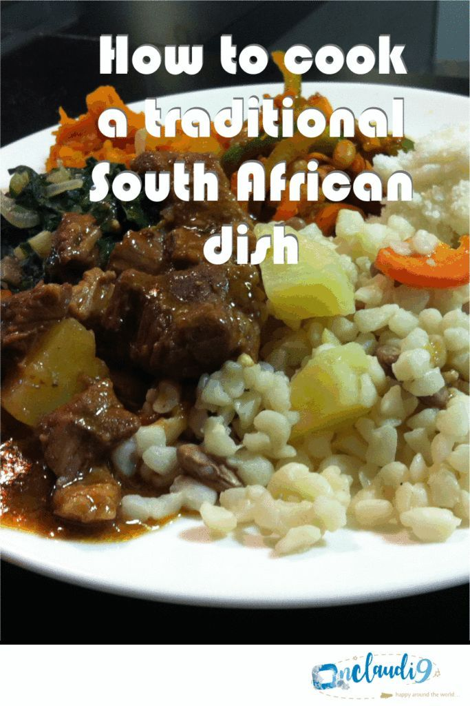 How to cook Beef Stew Samp and Beans  a traditional South African dish Find t  Most Pinned Holiday Recipes  Group Board