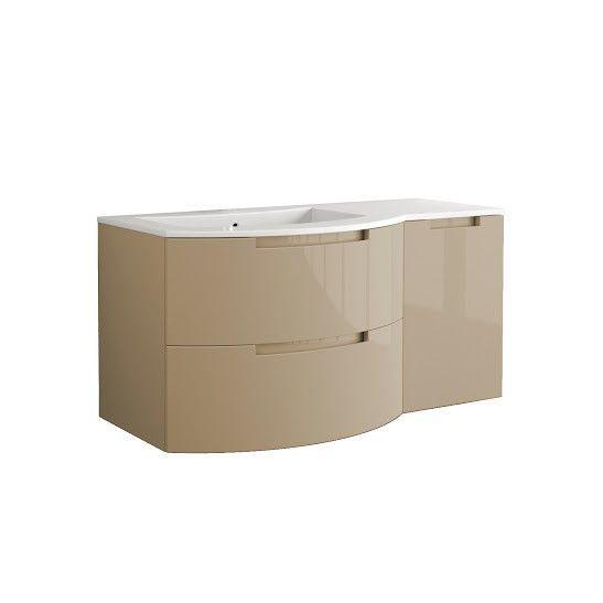 Latoscana OA43OPT2S Sand Glossy Vanity