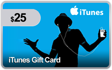 $25 iTunes Gift Card #auction #itunes