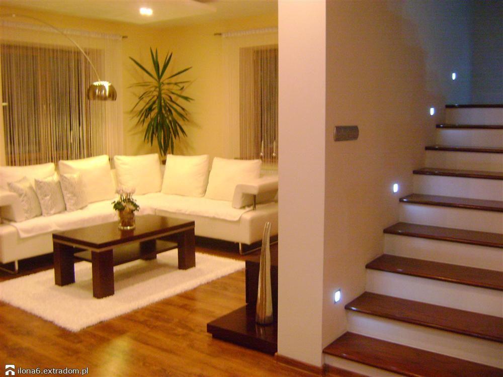 Propozycje - gdzie umieścić lampki - na krawędzi stopnia?