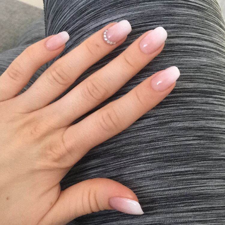 94 Short Acrylic Nails For Almond Coffin Square Point Round Nails Koees Blog Short Acrylic Nails Squoval Nails Acrylic Nails Stiletto