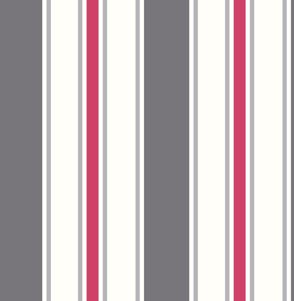 Wide Stripe By Albany Grey And Red Wallpaper Direct Striped Wallpaper Grey Red Wallpaper Striped Wallpaper Gray