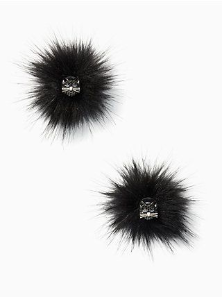 480120eeb out of the bag cat reversible earrings, black multi, quickView ...