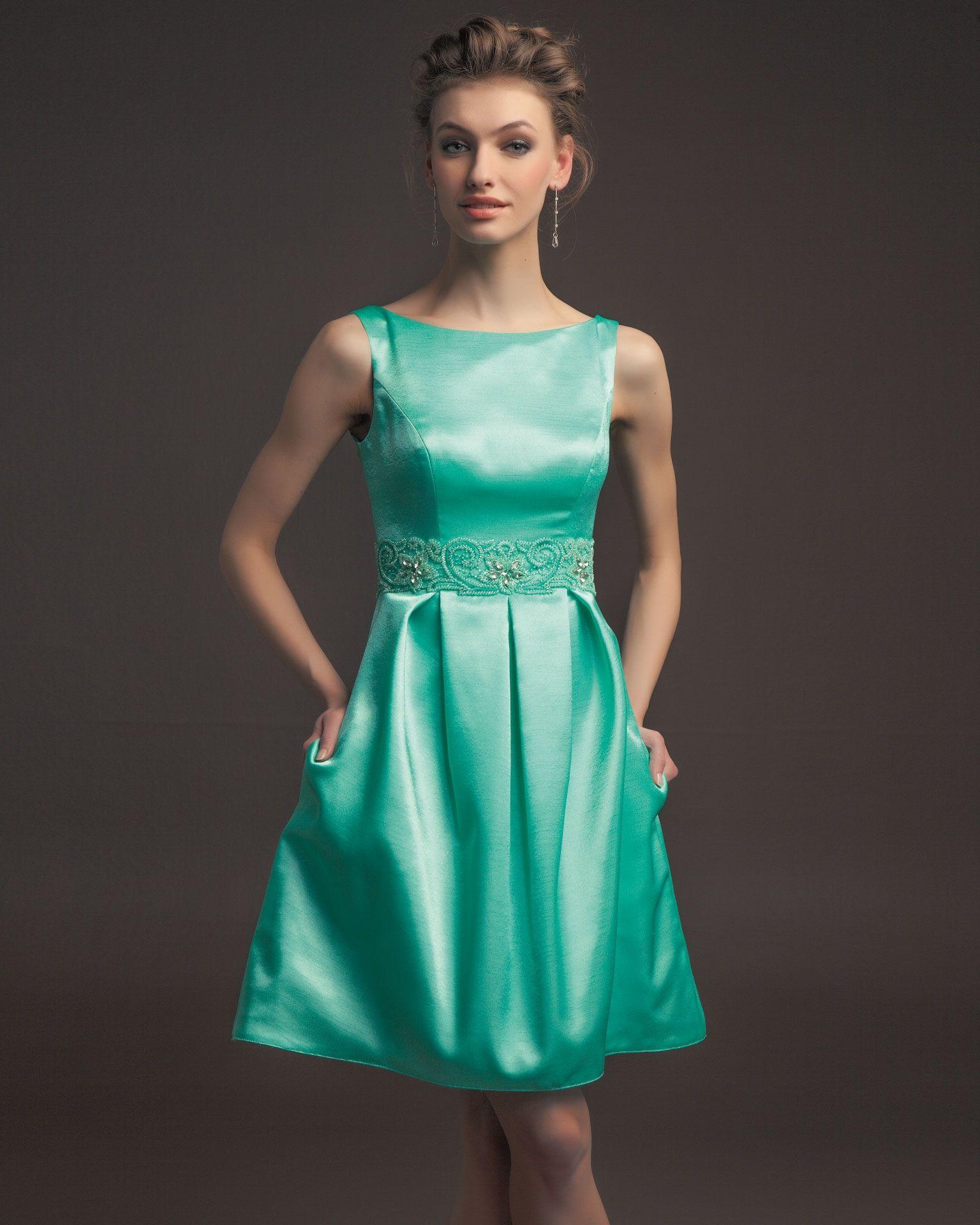 vestido de fiesta diseñador aire barcelona vestido