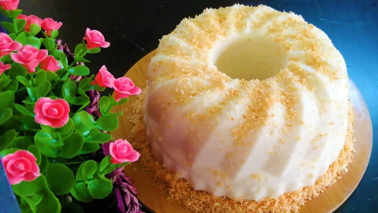 كيكة جوز الهند الباردة بدون فرن Food Desserts Doughnut