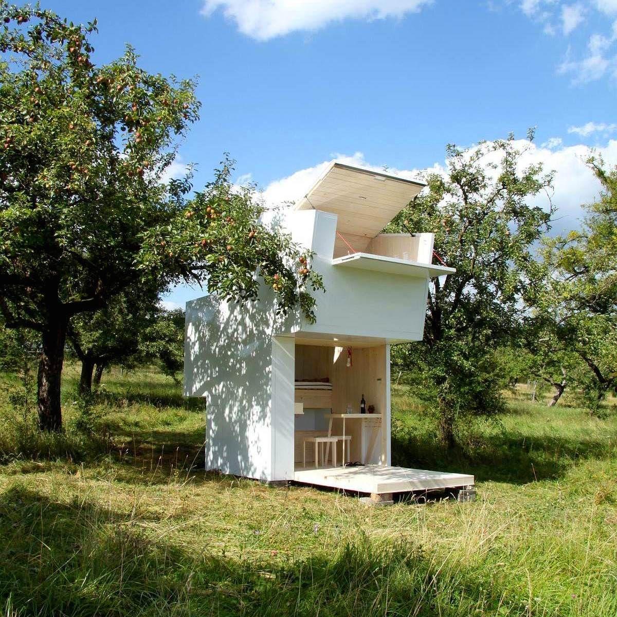 Three Students At The Bauhaus University In Germany Designed This  # Abris De Jardin Bauhaus