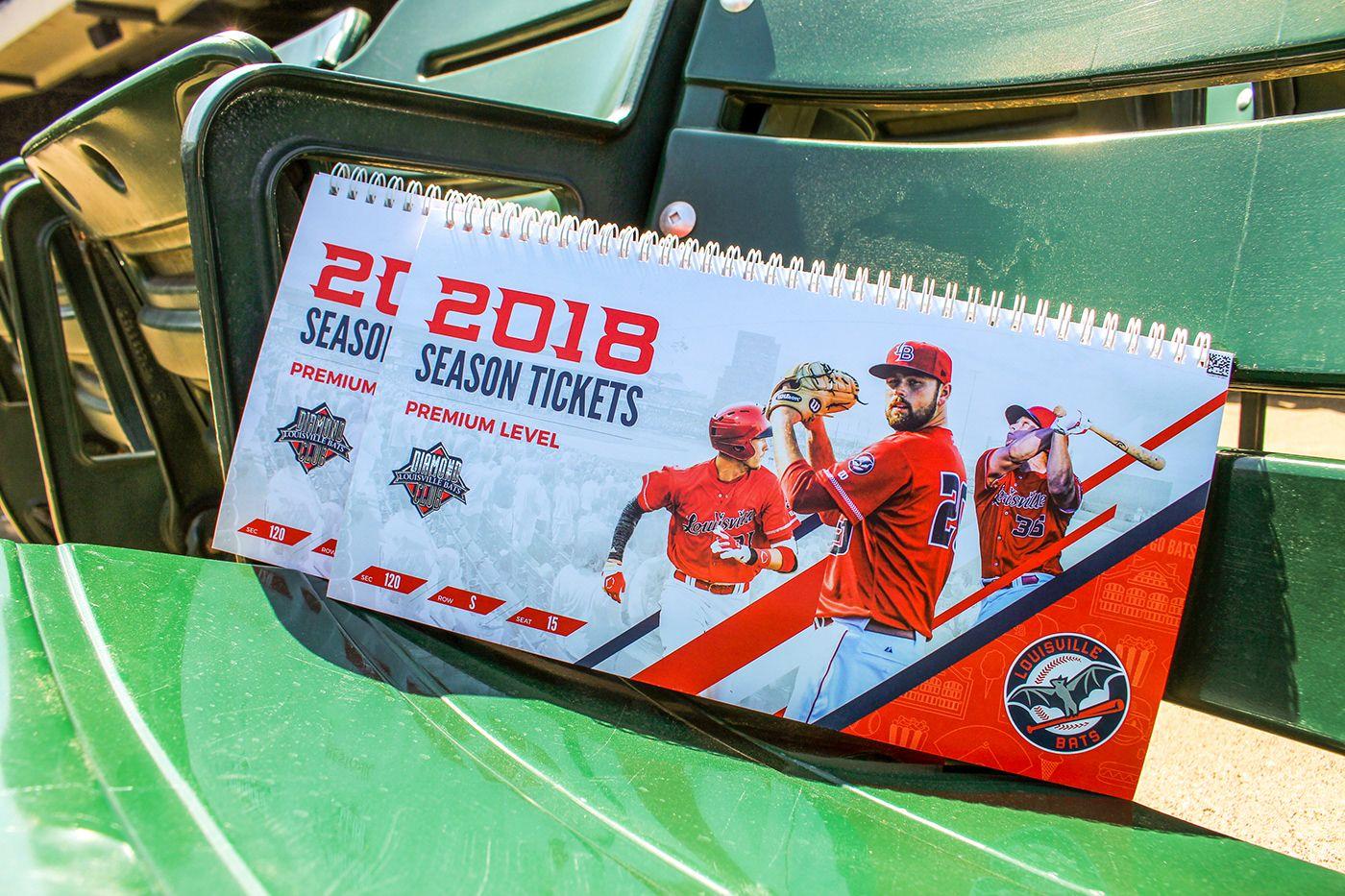 2018 louisville bats season tickets on behance season