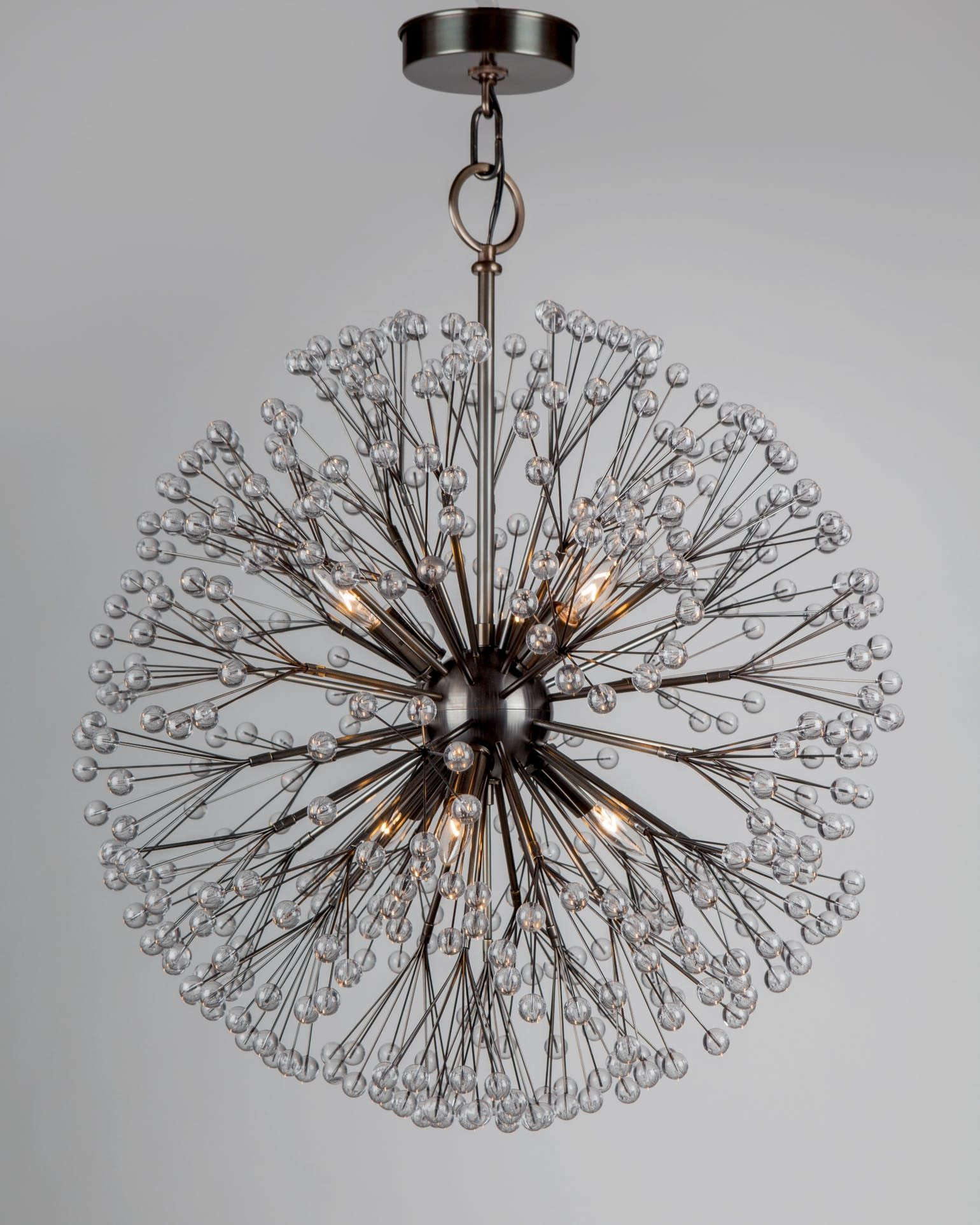 Dandelion Chandelier By Remains Lighting Made To Order Designer From Dering Hall S Collection Of Contemporary Mid Century Modern
