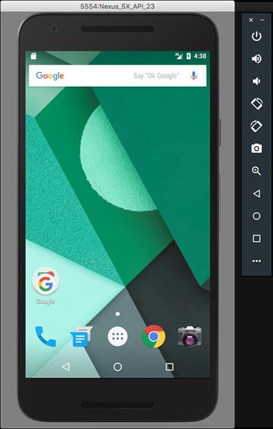 Ejecutar apps en el emulador de Android Android Studio