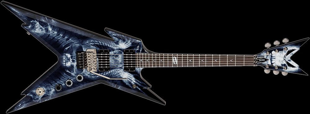 dean dimebag razorback x ray electric guitar if i could play a guitar this would be mine. Black Bedroom Furniture Sets. Home Design Ideas