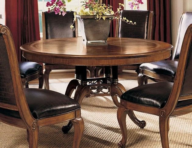Choice for round dining table